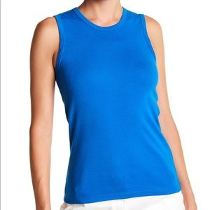 J. Crew Royal Blue Perfect Fit Shell Tank Top